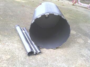 """Silver Series. 12"""" concrete core drill bit"""