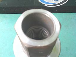 heavy construction, thick core bit hub