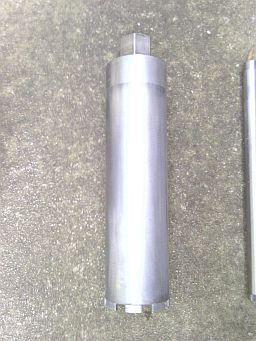"Silver Series. 4"" concrete core drill bit"