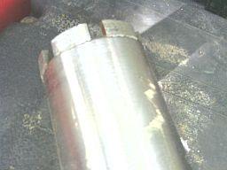 steel core bit hub