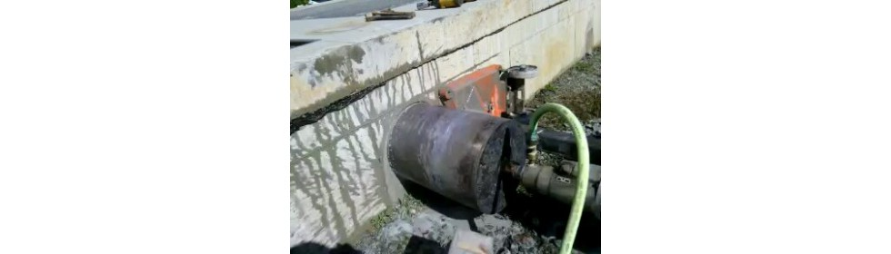 Core Drilling a wall