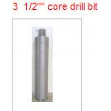 """3 1/2"""" core drill bit. $140 price"""