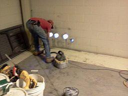 greensboro core drill project near Hanes Mall